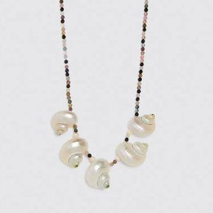 Zara Special Edition Shell Necklace NWT